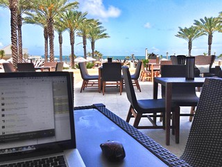 "Stuck here ""working"" on my JS projects. (But really, getting stuff done.) #jsconf 
