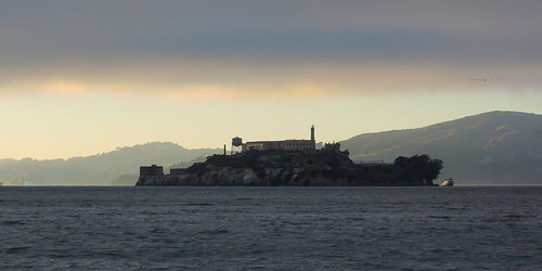 Alcatraz under a Brooding Sky | by Ed Suominen