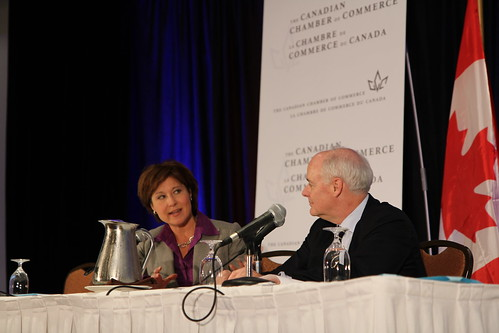 Canadian chamber of commerce agm premier christy clark for Canadian chambre of commerce