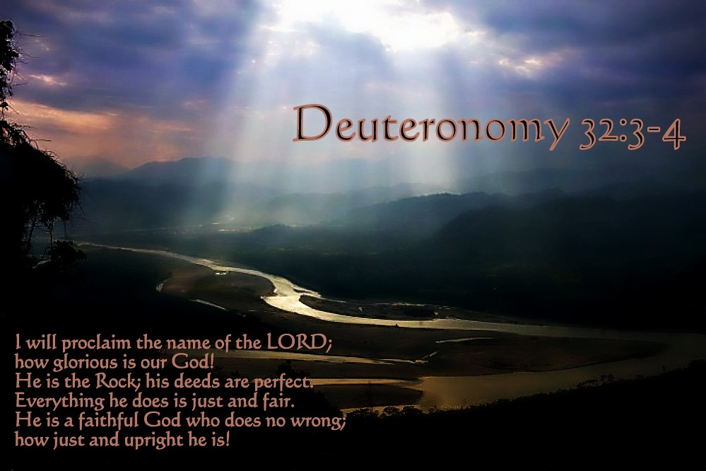 Image result for image of Deuteronomy 32:3 proclaim YHVH