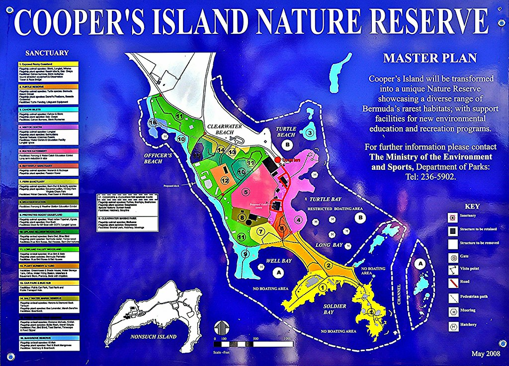 Cooper\'s Island Nature Reserve: the plan | Map and explanati… | Flickr