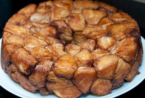Monkey Bread In Angel Food Cake Pan