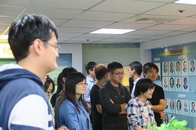 台灣大學金融研究中心暨台灣大學財金所學生參訪