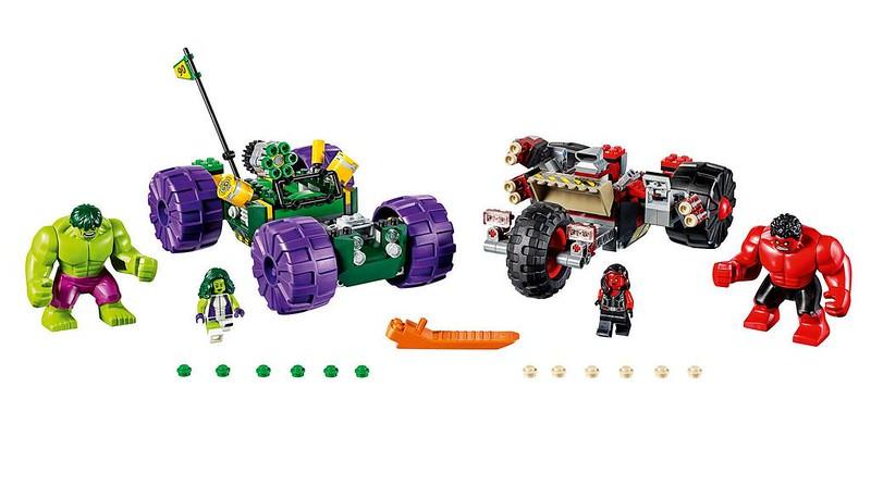 LEGO Marvel 2017: Hulk vs. Red Hulk
