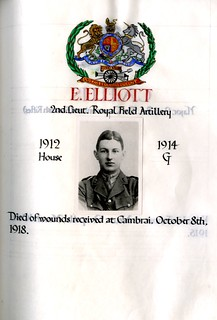 Elliott, Edward (1898-1918) | by sherborneschoolarchives