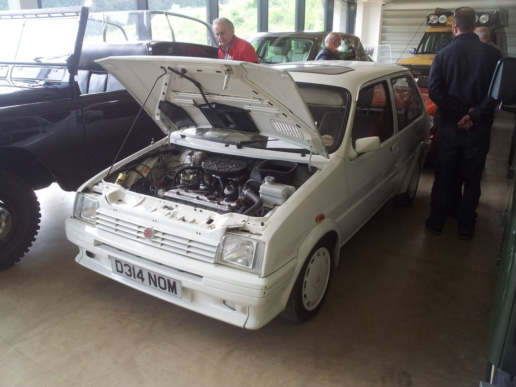 1986 MG Metro six-cylinder prototype | Outwardly a standard … | Flickr