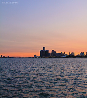 Detroit at Sunset | by mlanza