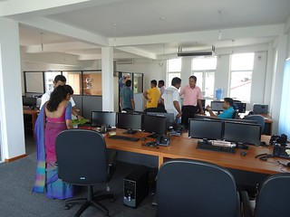 First day at the new Zeropoint.IT Sri Lanka office | by Bart Van Loon