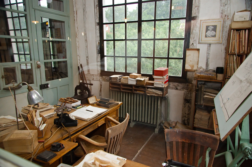 Bureau dtudes Bureau dtudes au muse industriel de la Flickr