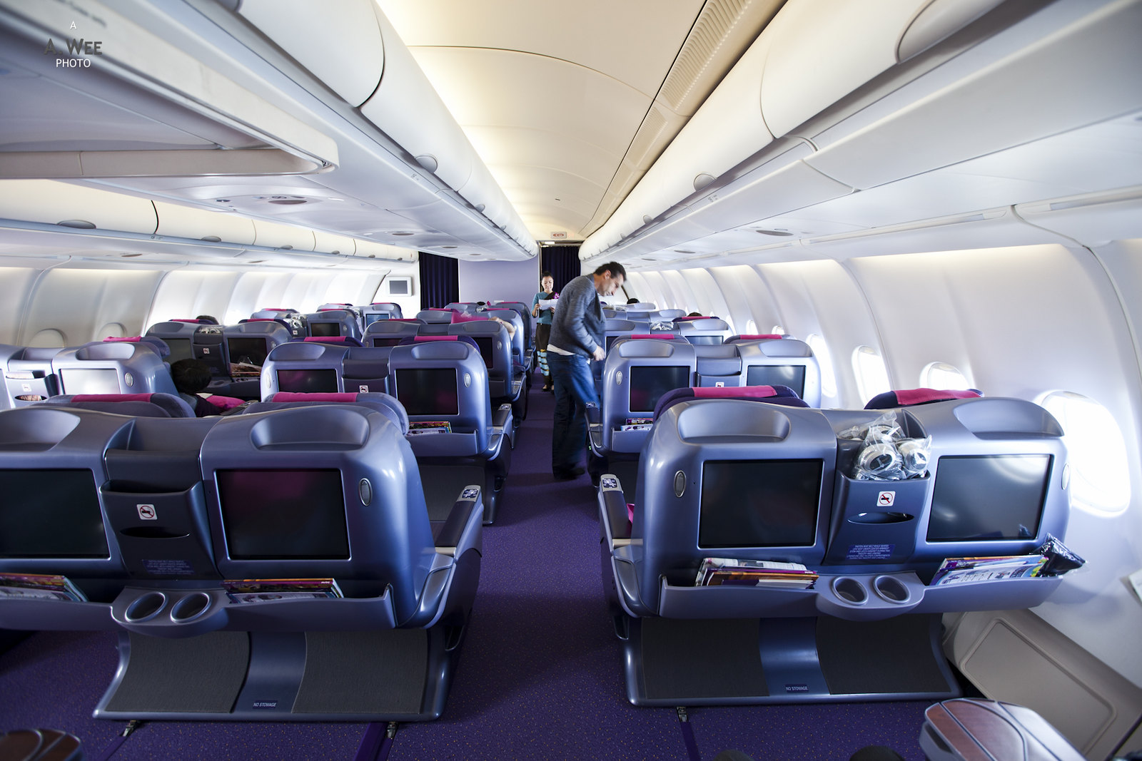 Thai Business Class Cabin