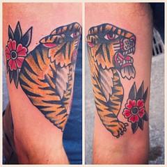 Tattoo orgy