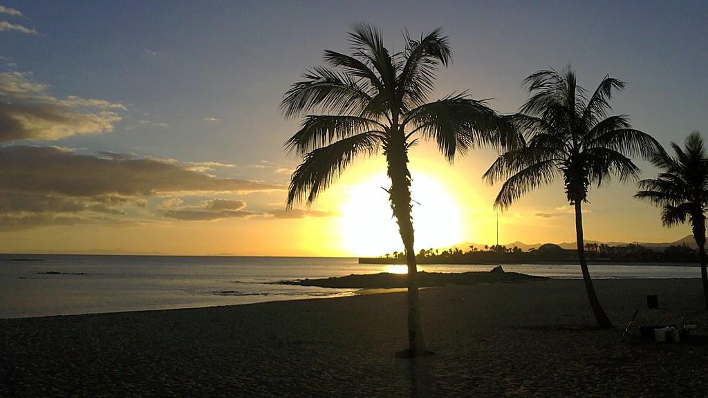 Sunset in Arrecife