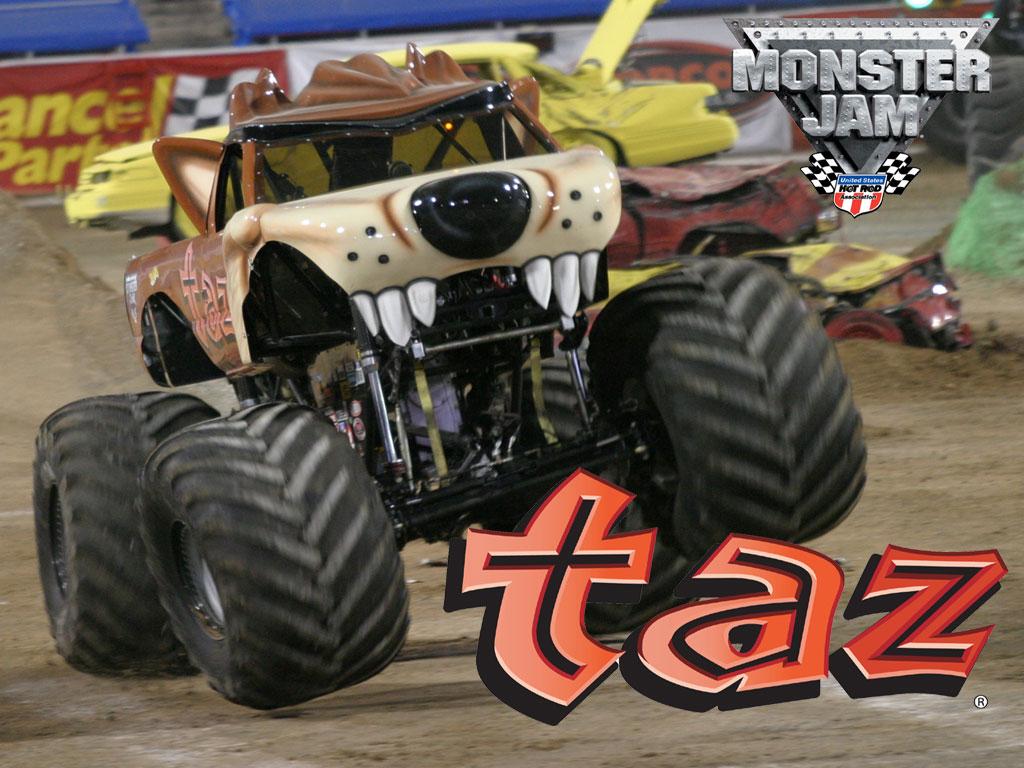Taz Monster Truck Wallpaper Kcic