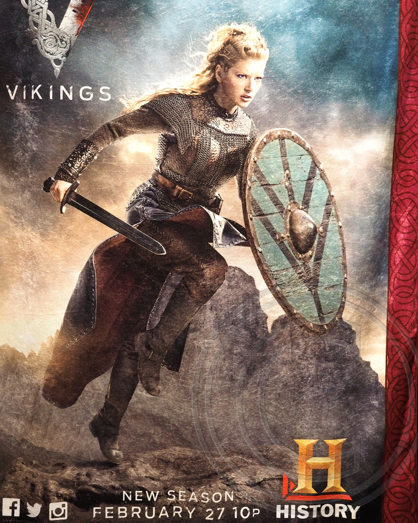 vikings on history channel time warner cable studios new flickr
