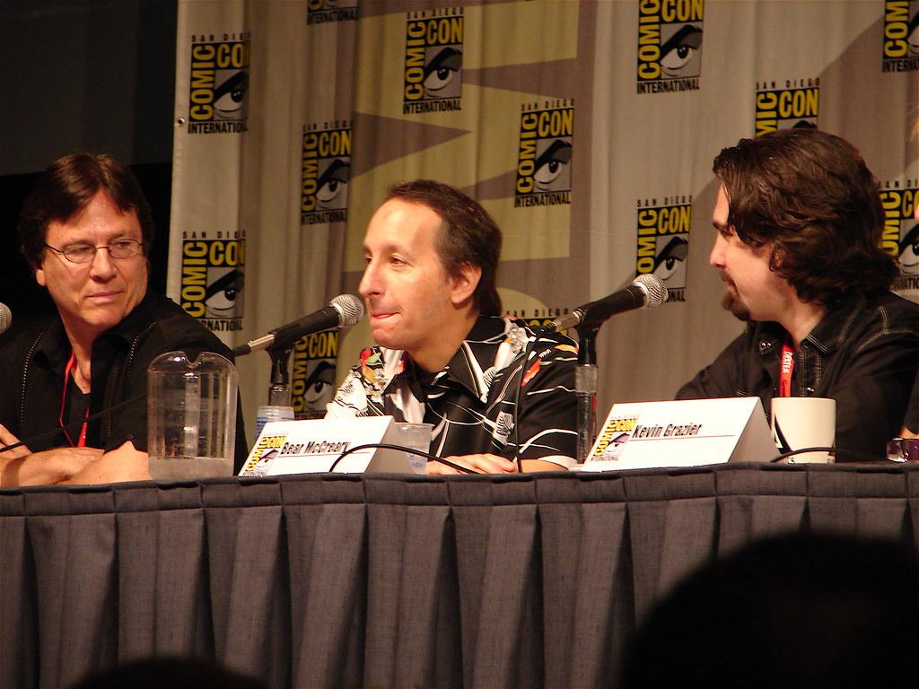 Battlestar Galactica panel: Actor Richard Hatch (