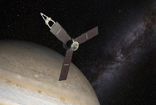 juno arrives on orbit | by Robert Couse-Baker