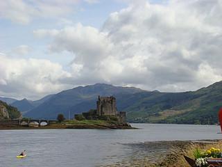 082 Uitizcht op  Eilean Donan Castle