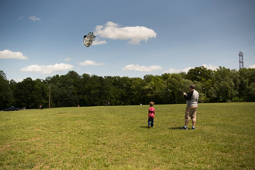 Flying a kite | by kngrainer