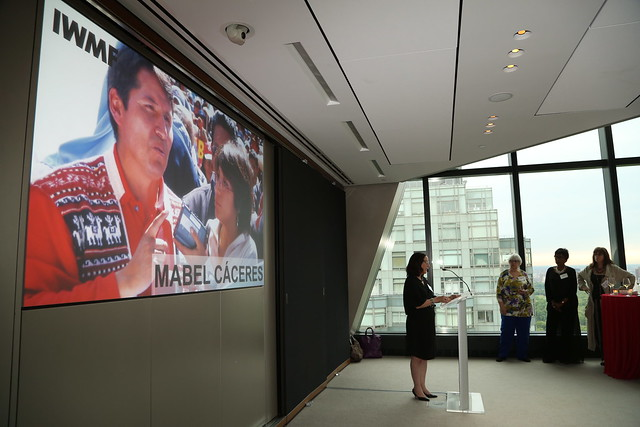Courage in Journalism Announcement @ Hearst Tower
