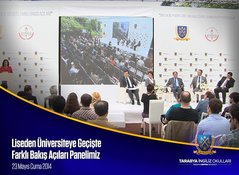 Liseden Üniversiteye Geçişte Farklı Bakış Açıları - 23 Mayıs 2014 Panel