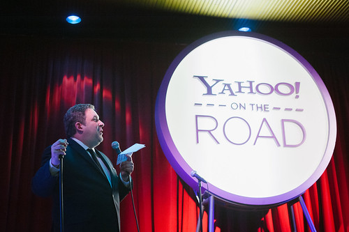 Yahoo! On the Road, Chicago, IL, Jeff Garlin | by Yahoo On the Road