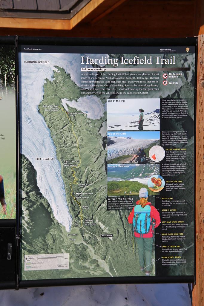 Kenai Fjords National Park Exit Glacier Interpretive s Flickr