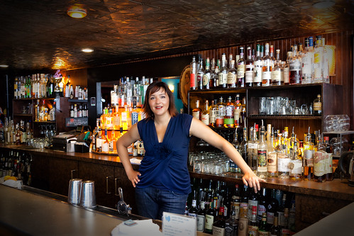 Jessica Behind Her Bar, 1 | by Jeremy Brooks