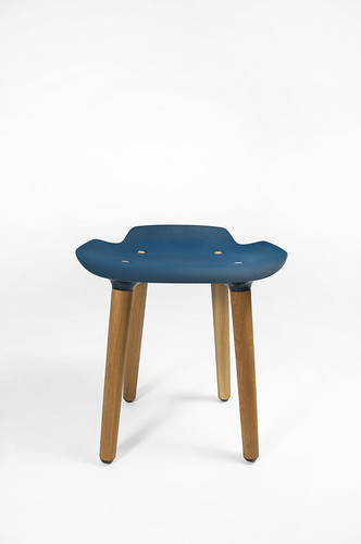 Limited Edition Pilot Stool Coloured Seat Petrol Seat