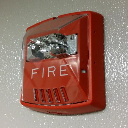 Wheelock Exceder A Wheelock Exceder Fire Alarm Strobe At
