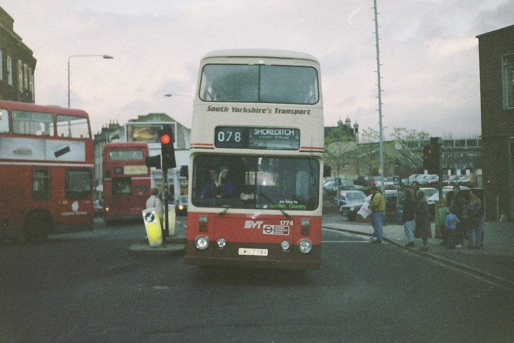 South Yorkshire Transport Gwg 724v On Hire London Route 78 Forest Hill C