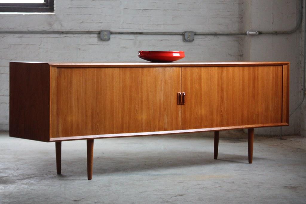 Danish Credenza Hutch : Unforgettable danish mid century modern teak tambour door u flickr