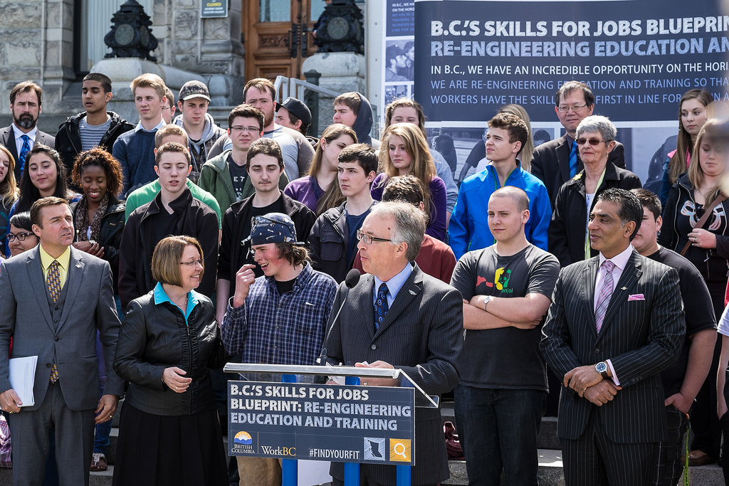 Bc launches skills for jobs blueprint to re engineer edu flickr bc launches skills for jobs blueprint to re engineer education and training by bc malvernweather Images