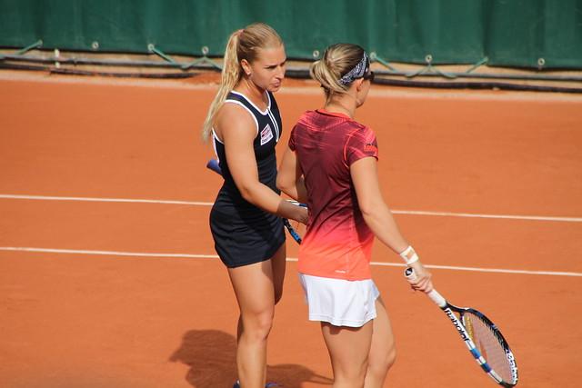 Dominika Cibulkova & Kirsten Flipkens