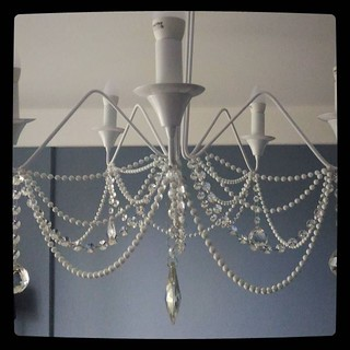 Decoration in progress: updated bedroom ceiling lamp.#kuzzzmahomesweethome
