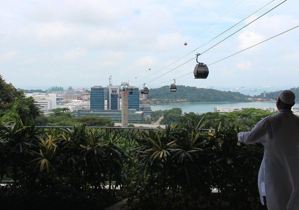 View from Faber Point, Singapore