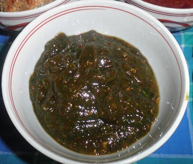 Green Sauce for Duck