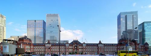 Facade of Tokyo Station (東京駅)
