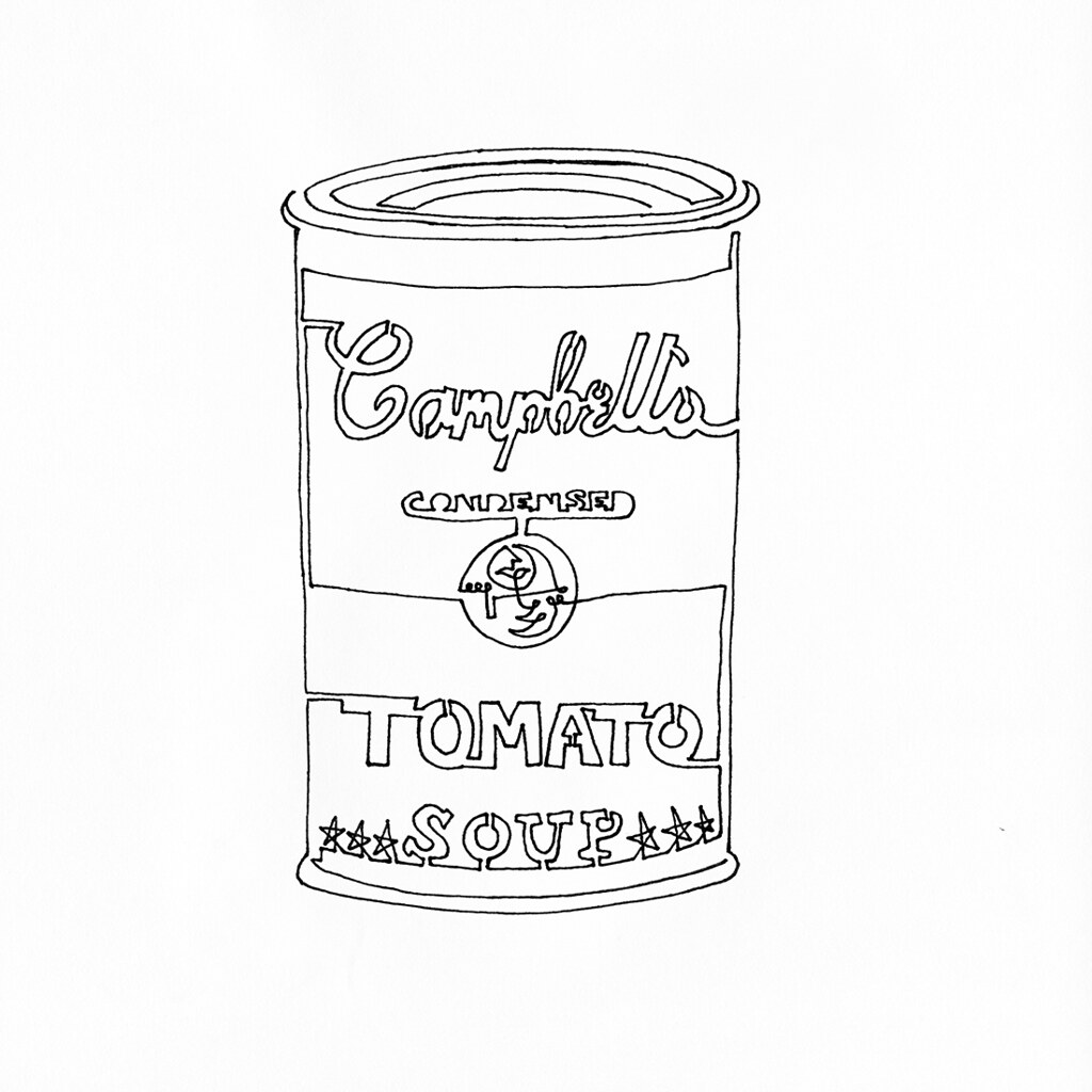 campbells soup coloring pages - photo#6