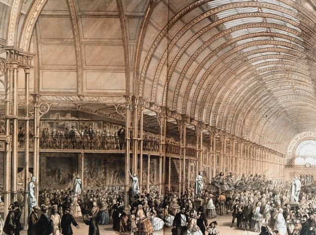 Interior of Art Treasures Palace 1857