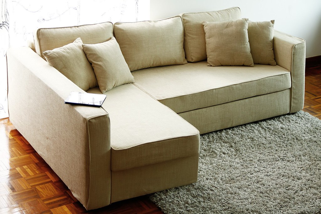 Beautiful ... IKEA Manstad Sofa Cover | By Comfort Works Custom Sofa Cover