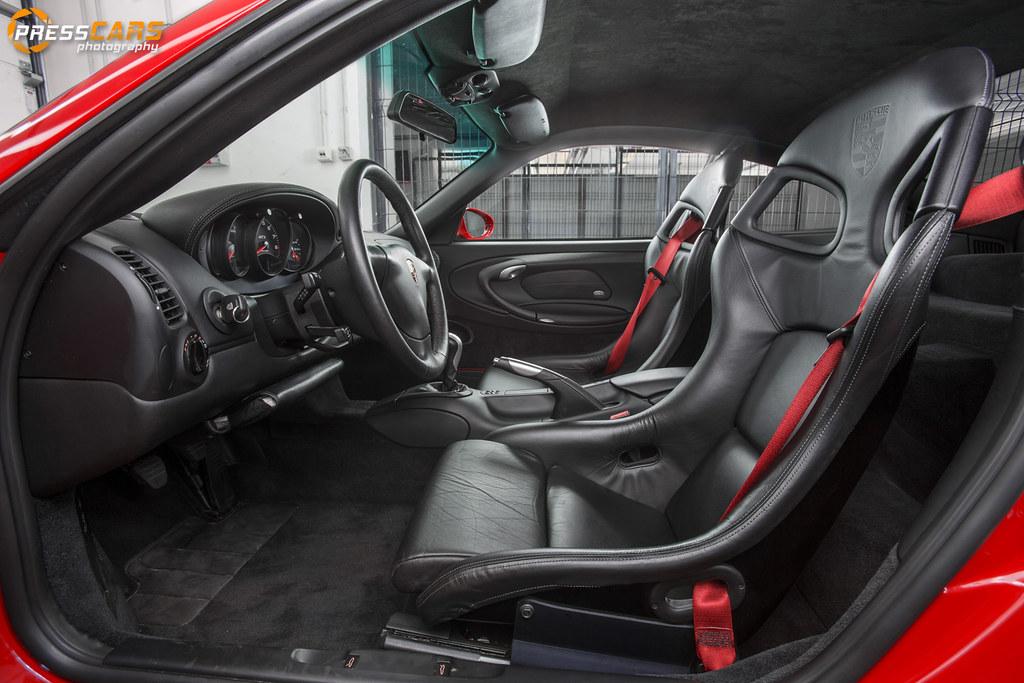 porsche 911 996 gt3 interior by presscars
