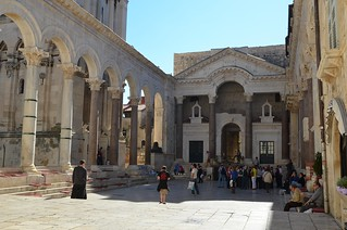 Peristyle of Diocletian's Palace, Split | by Following Hadrian