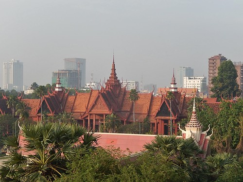 Morning View Across Phnom Penh | by mikecogh
