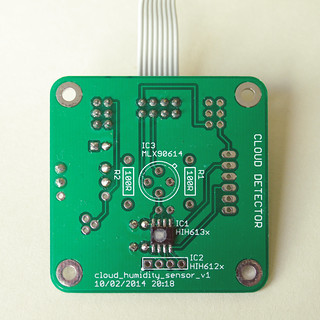 Humidity sensor PCB | by Steve Marple