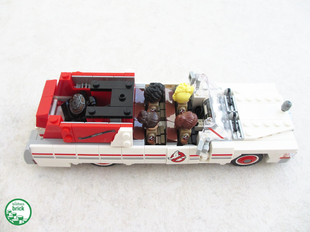 75828 Ghostbusters Ecto 1 2 The Brothers Brick Flickr Lego Ampamp By