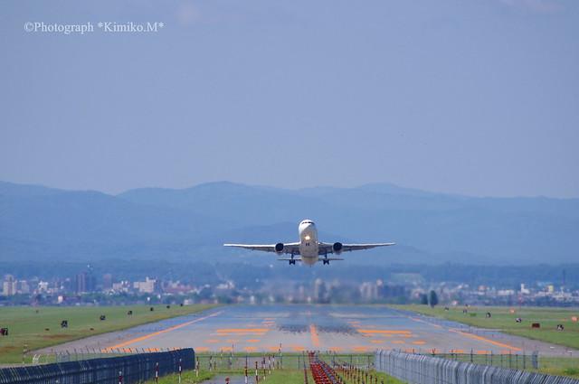 AIR DO離陸