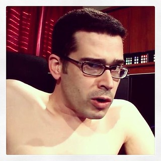 Which is more white: me (from TLDR on YouTube yesterday) or the border for this photo? | by Chris Pirillo