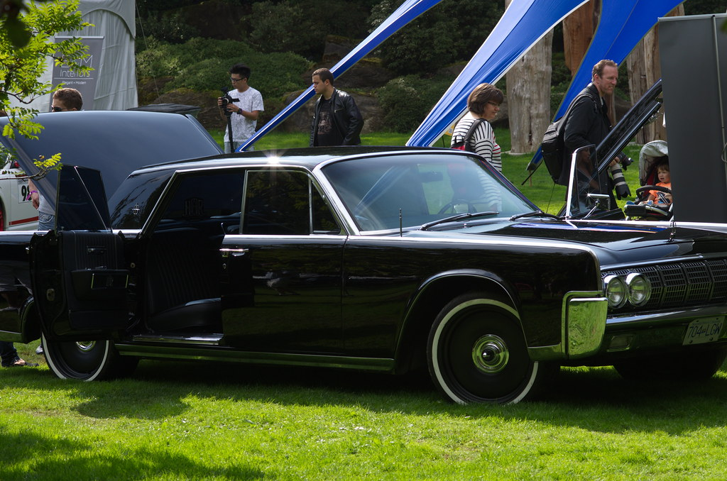... 1964 Lincoln Continental Sedan With Suicide Doors | By RichardSWong