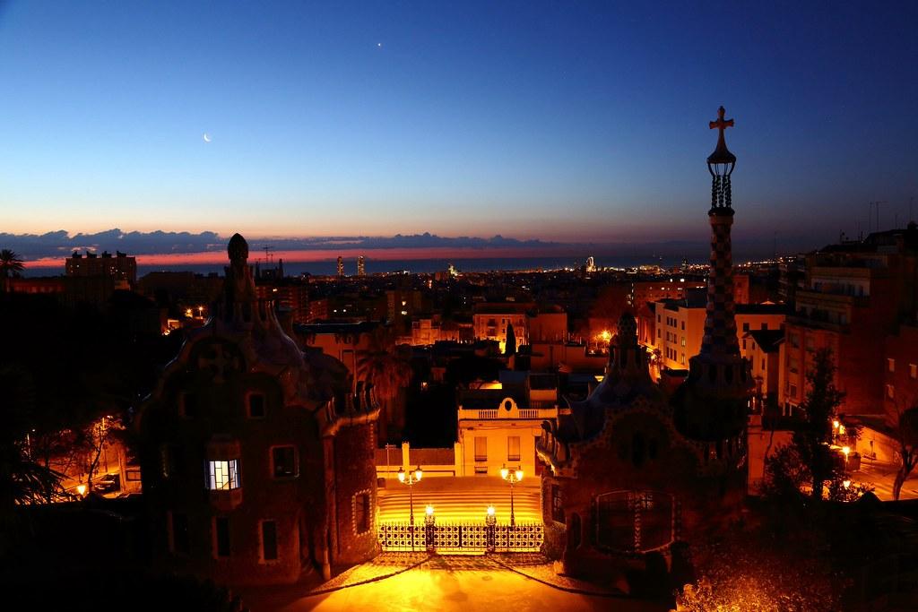 Gaudi Sunrise