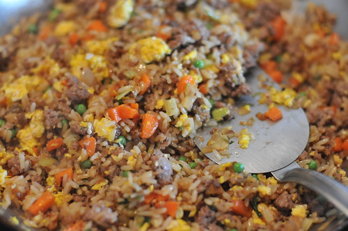 stir fried rice | by Girl On Grill Action